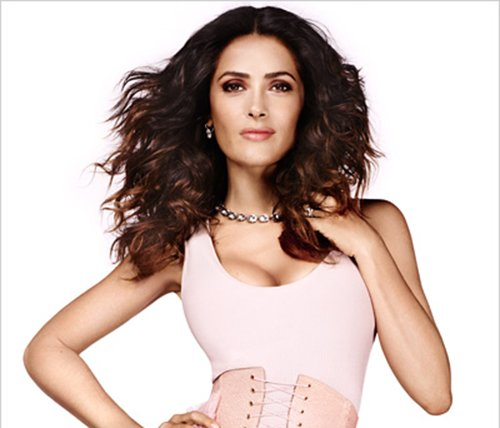 Selma Hayek on Aging in InStyle Magazine