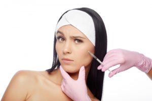 Woman Getting BOTOX® Cosmetic in Cheek